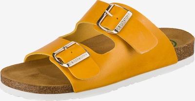 DR. BRINKMANN Pantolette in gelb, Produktansicht