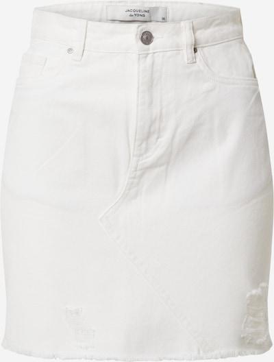 JACQUELINE de YONG Sukňa 'ROSA' - biela: Pohľad spredu