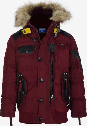 CIPO & BAXX Winterjas in de kleur Rood, Productweergave