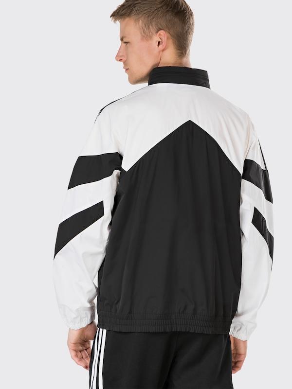 adidas palmeston jacke schwarz weiß