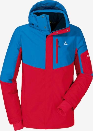 Schöffel Skijacke 'Bozen' in royalblau / rot, Produktansicht