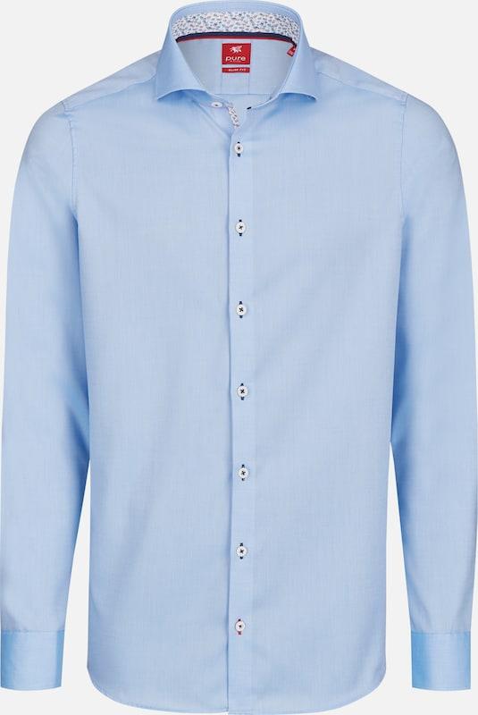 PURE Hemd in hellblau  Mode neue Kleidung