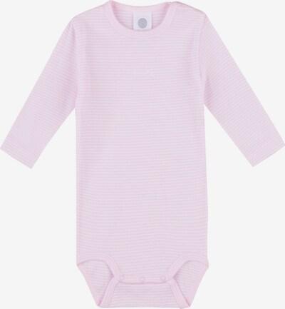 SANETTA Body in rosa / weiß, Produktansicht