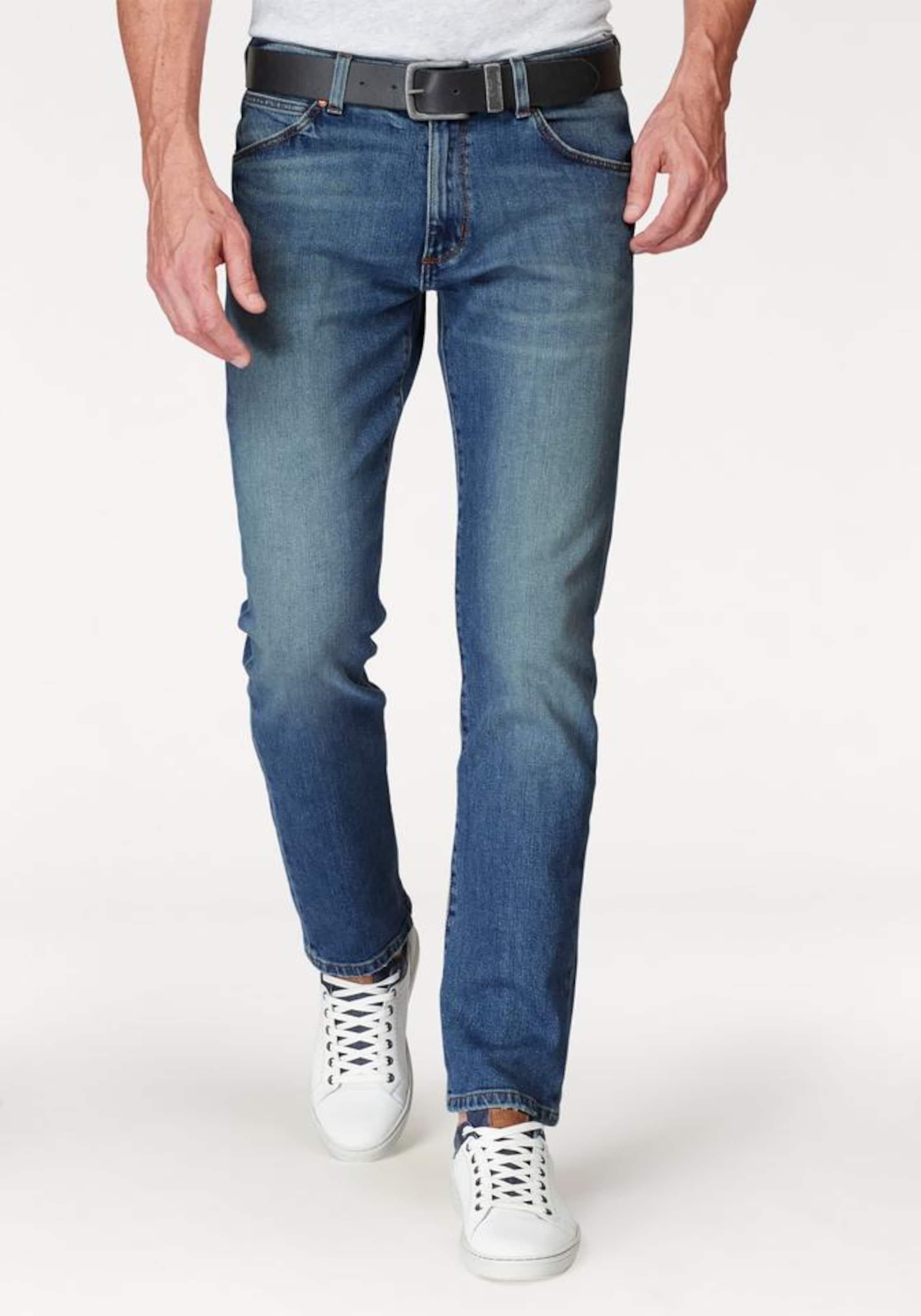 WRANGLER Stretch-Jeans 'Greensboro' Günstig Kaufen 100% Authentisch xyH95bv