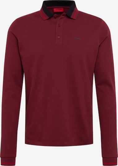 HUGO Shirt in blutrot, Produktansicht