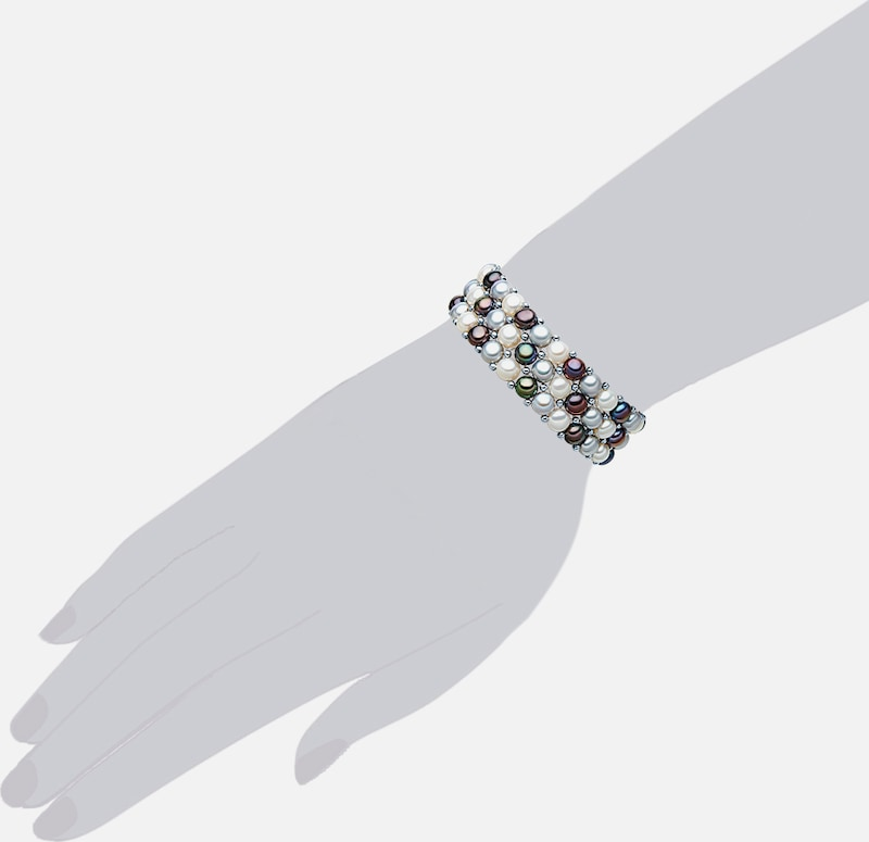 Valero Pearls Costume Jewelery Bracelet With Freshwater Cultured Pearls