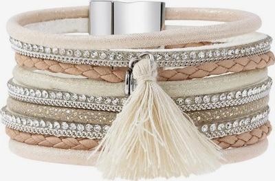 LASCANA Bracelet in Beige / Cream / Light brown, Item view