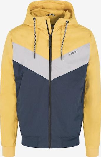 mazine Jacke 'Duns Light' in gelb / weiß, Produktansicht
