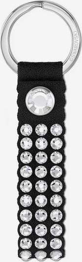 Swarovski Schlüsselanhänger 'Power' in schwarz / silber, Produktansicht