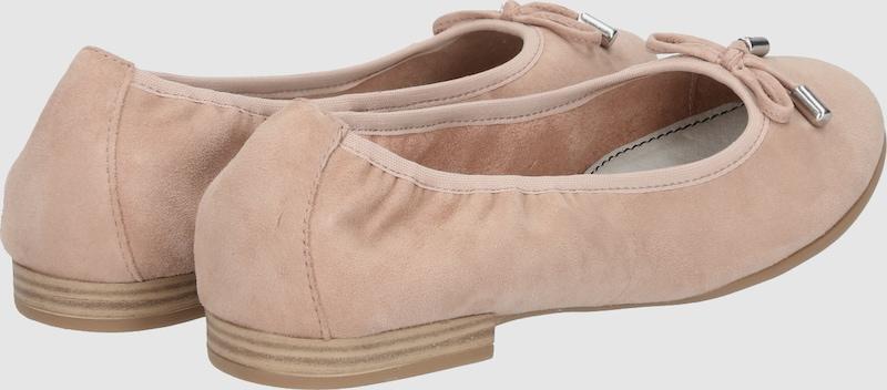 s.Oliver RED LABEL | Gut Ballerina mit Schleife Schuhe Gut | getragene Schuhe 59acfd