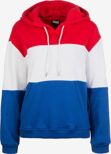 Urban Classics Блузон с качулка в синьо / червено / бяло, Преглед на продукта