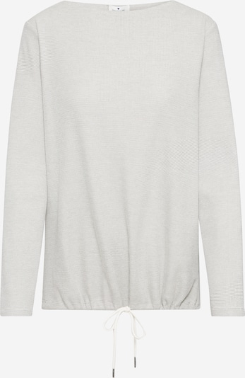 TOM TAILOR Sweatshirt in offwhite, Produktansicht