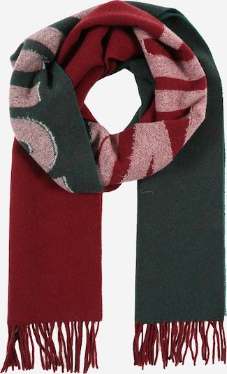 DRYKORN Szalik 'MIKKA' w kolorze khaki / bordowym, Podgląd produktu
