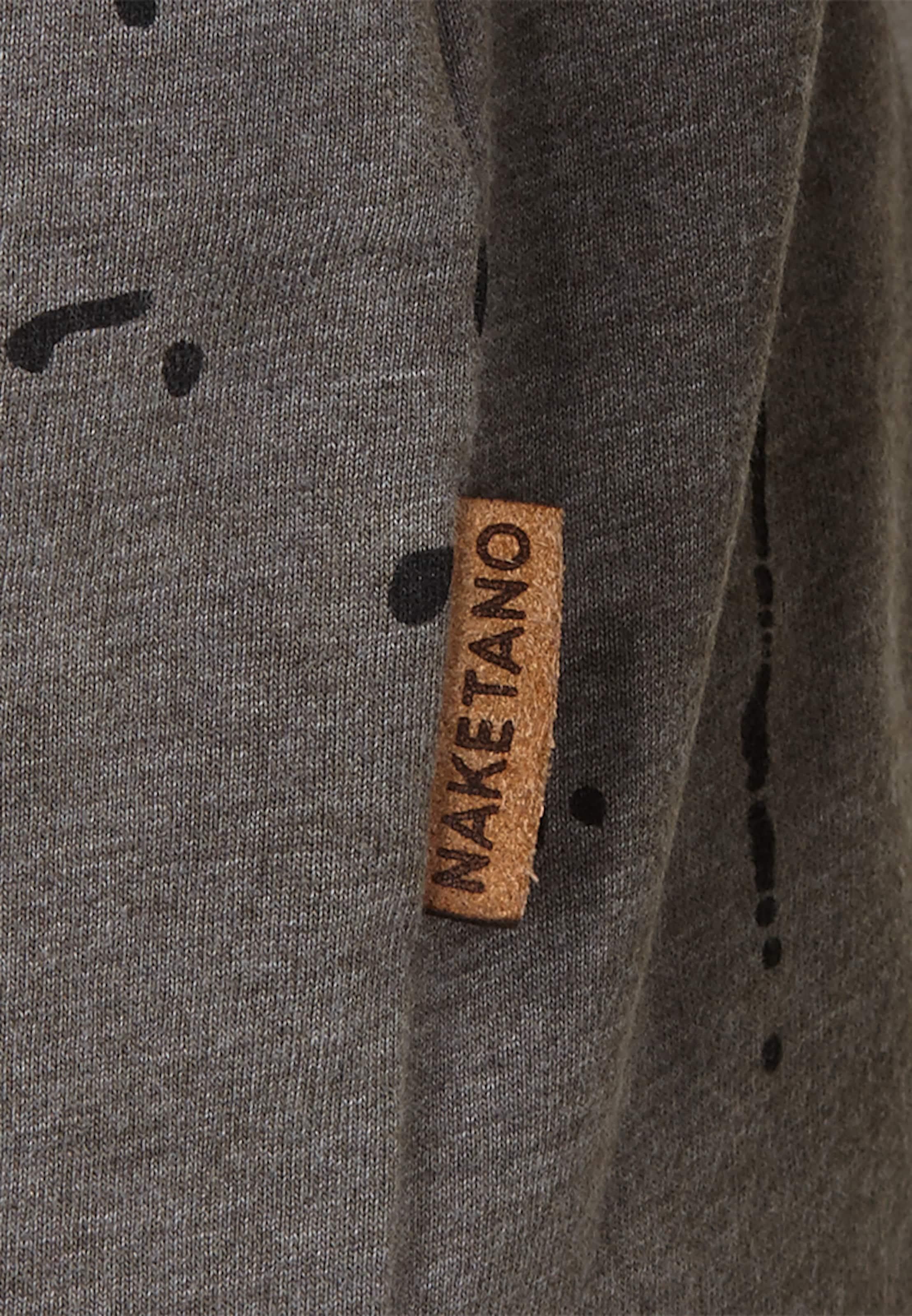 Outlet Großer Verkauf naketano Sweatshirt 'Nordschleife made men' Große Überraschung Zu Verkaufen 4wOiUz8J