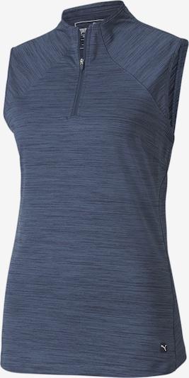 PUMA Poloshirt in blaumeliert, Produktansicht