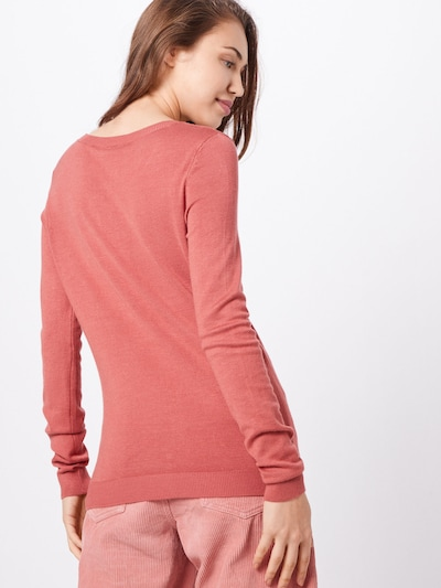 VILA Pulover 'BOLONIA' | roza barva: Pogled od zadnje strani