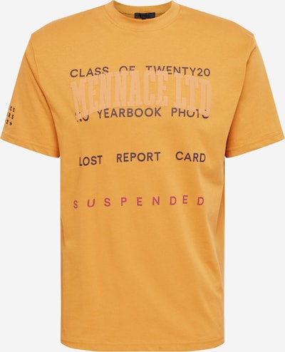 Mennace T-Shirt 'Class Of 2020' en orange clair, Vue avec produit