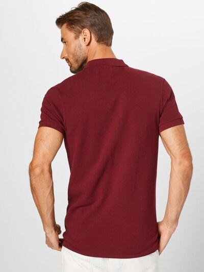 SCOTCH & SODA Shirt in de kleur Wijnrood: Achteraanzicht