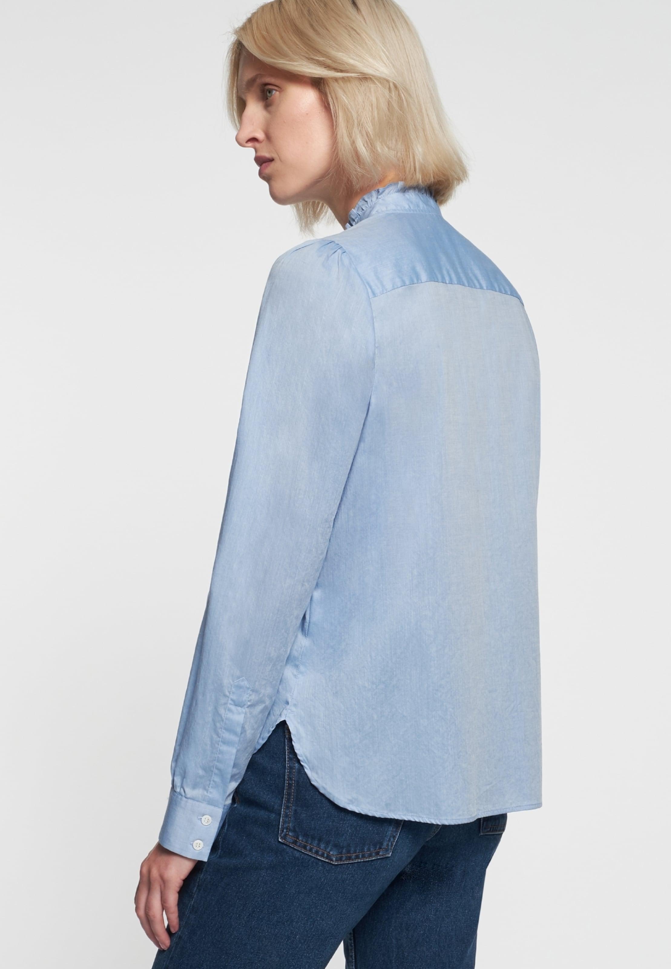 Bluse Rose' Hellblau Seidensticker In 'schwarze 3ALR45j