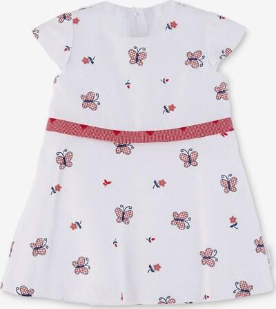 STERNTALER Kleid in navy / rot / weiß, Produktansicht