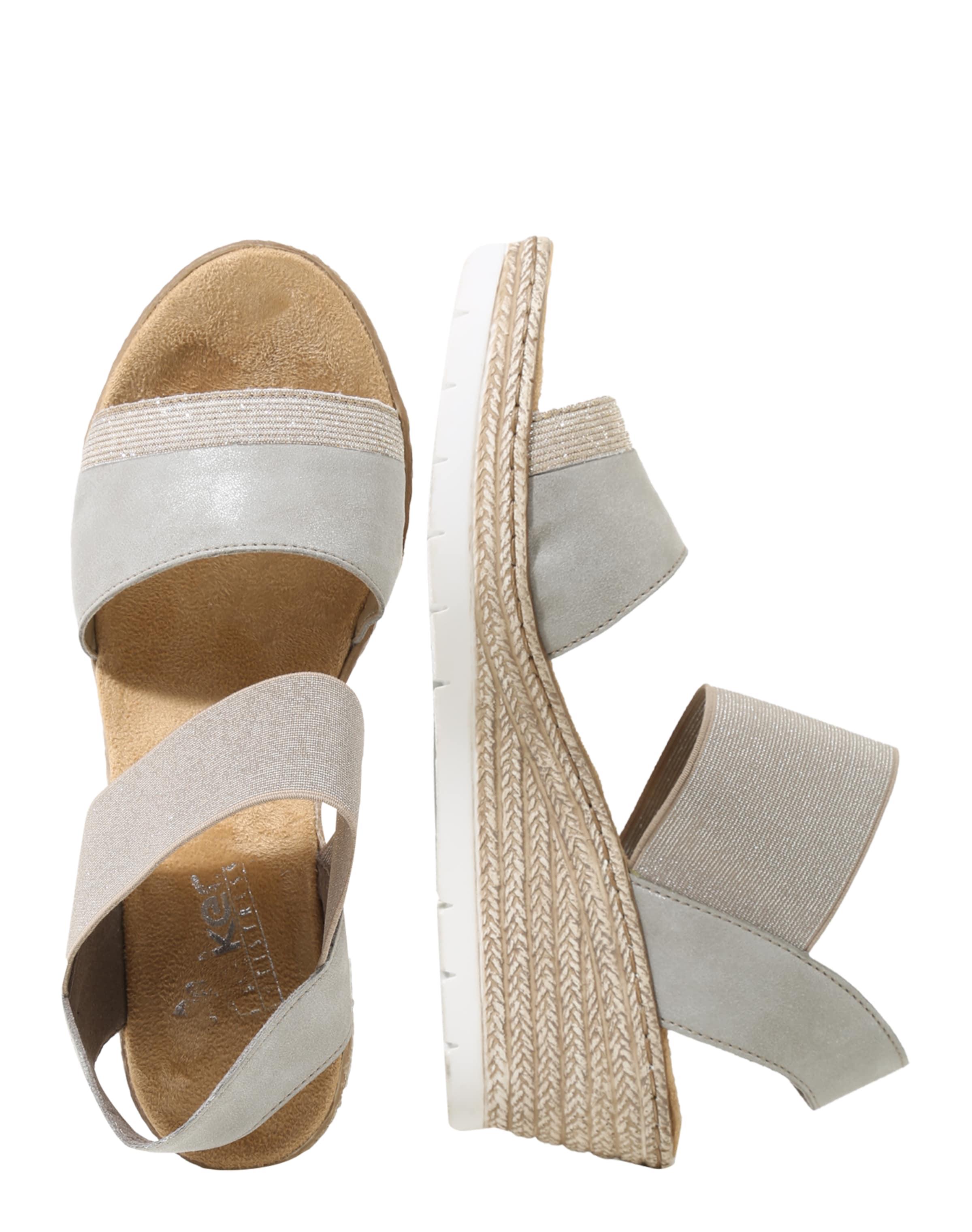 RIEKER Sandale mit Keilabsatz Erstaunlicher Preis Zu Verkaufen Freies Verschiffen Extrem Auslasszwischenraum HDuEhqQTF