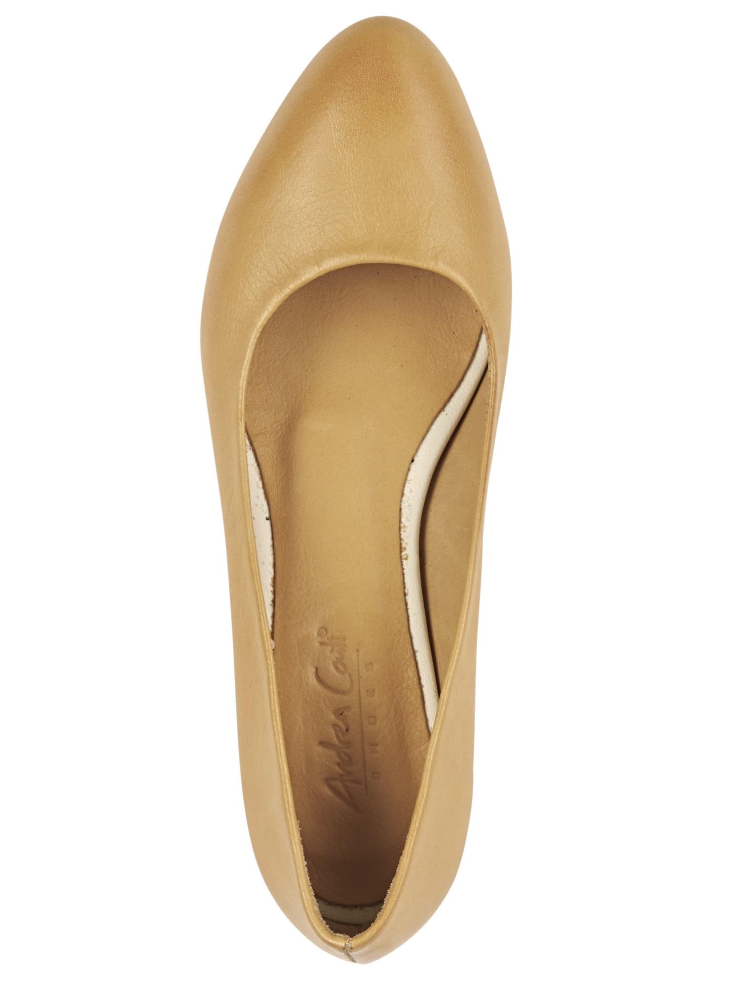 In Andrea Conti Andrea Ballerina Senf AjL435Rq