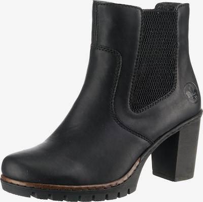 RIEKER Chelsea Boots en noir, Vue avec produit