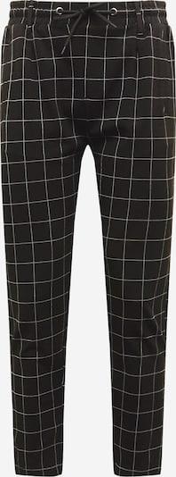 Urban Classics Chino kalhoty - černá / bílá, Produkt