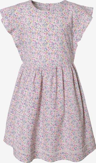 TOM TAILOR Kleid in royalblau / gelb / mint / pink / weiß, Produktansicht