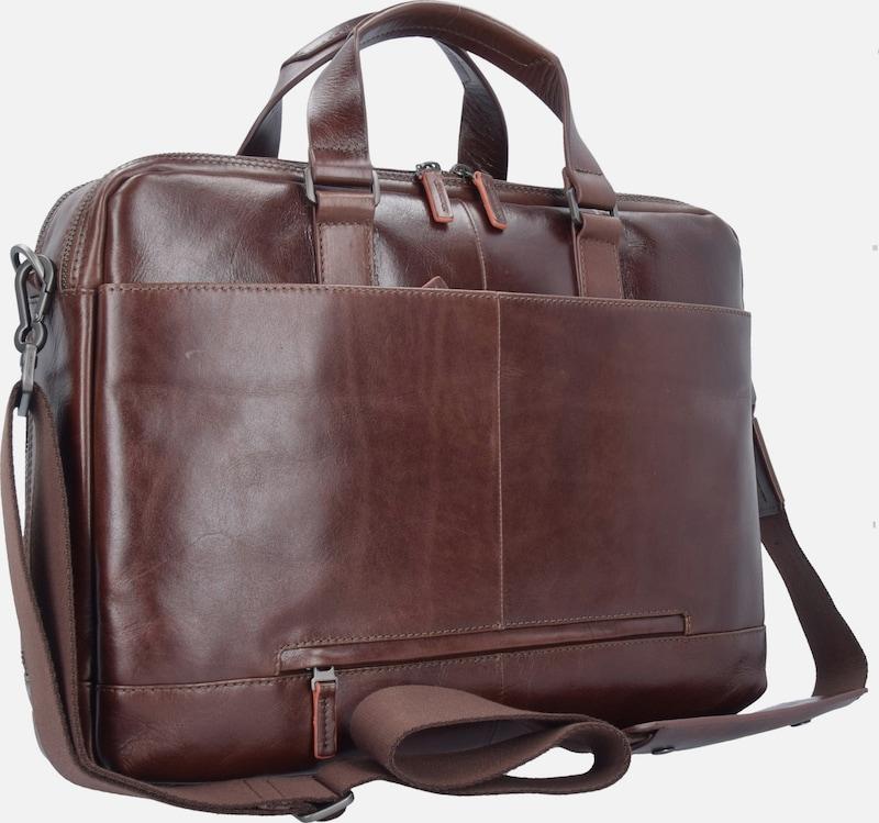 SAMSONITE West Harbor Businesstasche Leder 42 cm Laptopfach