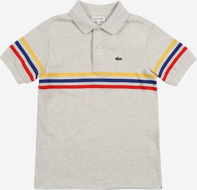 LACOSTE Shirt in creme / grau: Frontalansicht