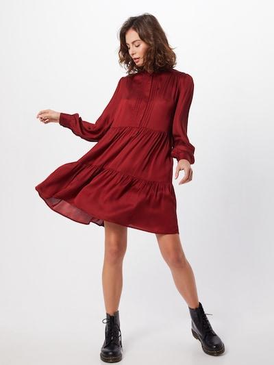 Y.A.S Kleid 'YASPAMELA' in weinrot, Modelansicht