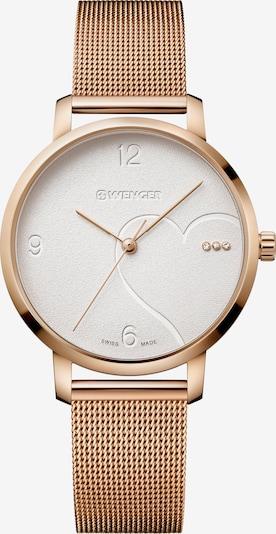 WENGER Uhr 'Metropolitan Donnissima' in gold / weiß, Produktansicht