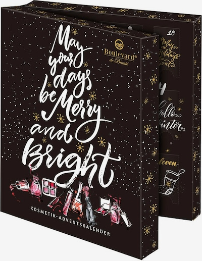 Boulevard de Beauté Adventskalender 'Beauty In A Book' in mischfarben / schwarz, Produktansicht