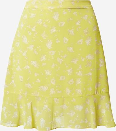Calvin Klein Jeans Rock in gelb / weiß, Produktansicht