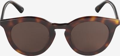 McQ Alexander McQueen Lunettes de soleil 'MQ0167S-001 46' en marron, Vue avec produit
