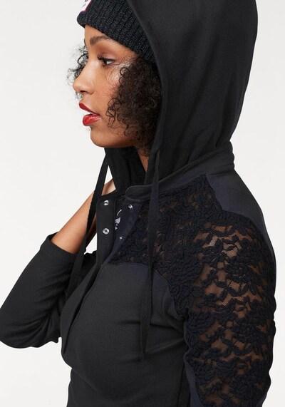 KangaROOS Kapuzenshirt in schwarz, Produktansicht