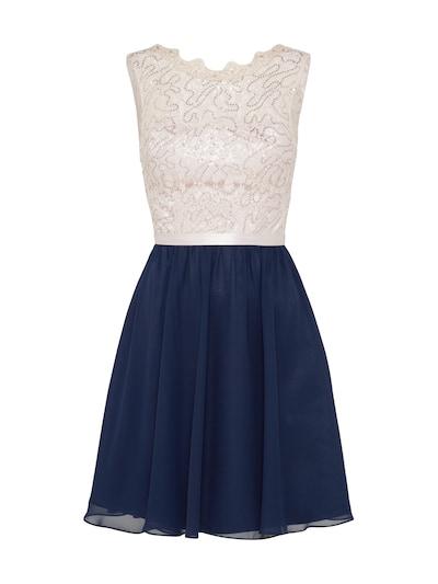 Laona Koktel haljina u bež / mornarsko plava, Pregled proizvoda