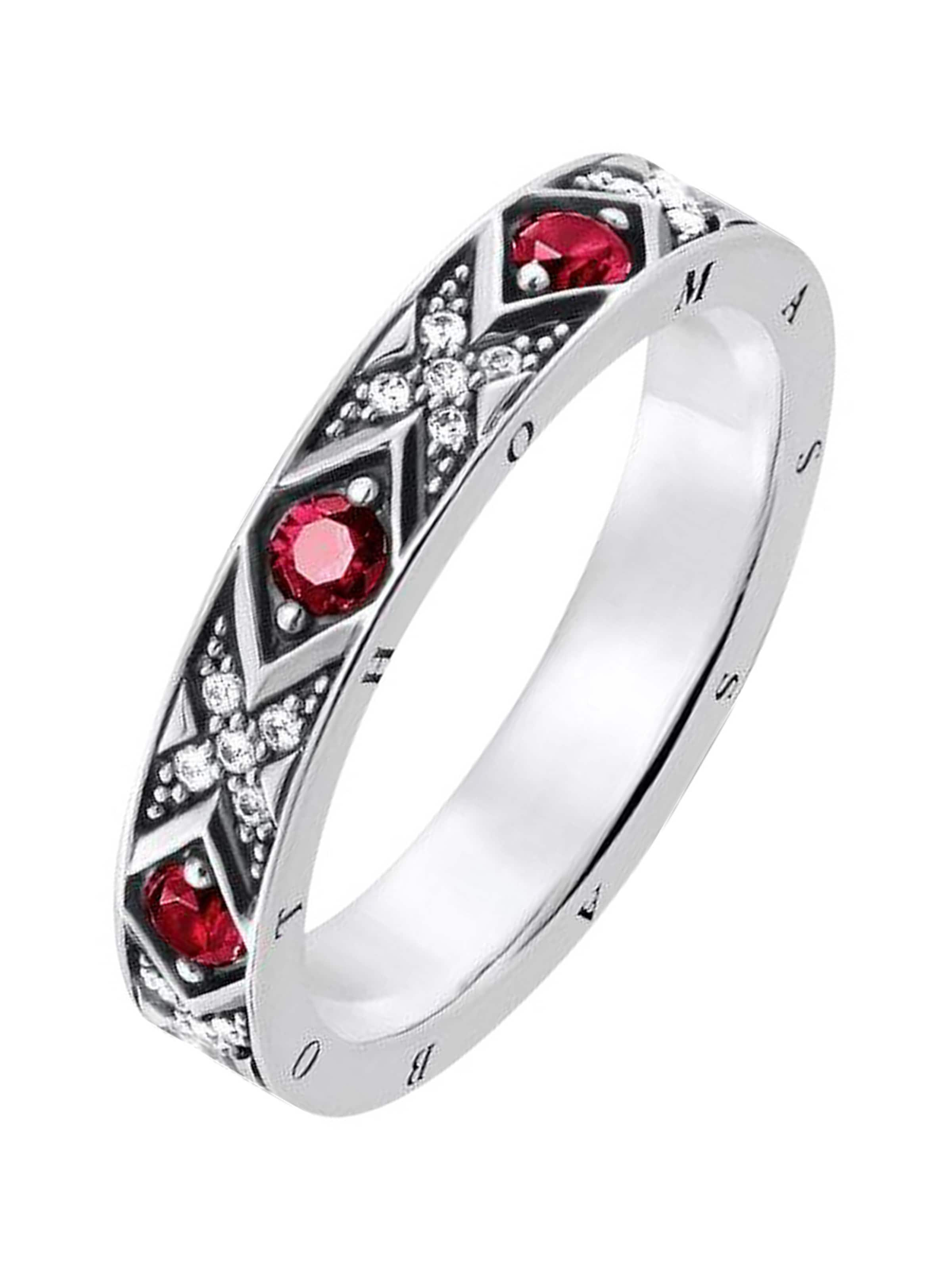 Rot Silber In Sabo 925er ' Thomas Damen damenring SzVqUMpG