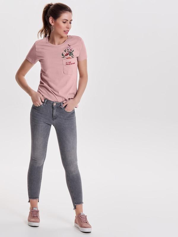 ONLY Carmen Knöchel Skinny Fit Jeans