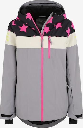 ICEPEAK Zunanja jakna 'CLEARLAKE' | temno modra / siva / roza barva, Prikaz izdelka