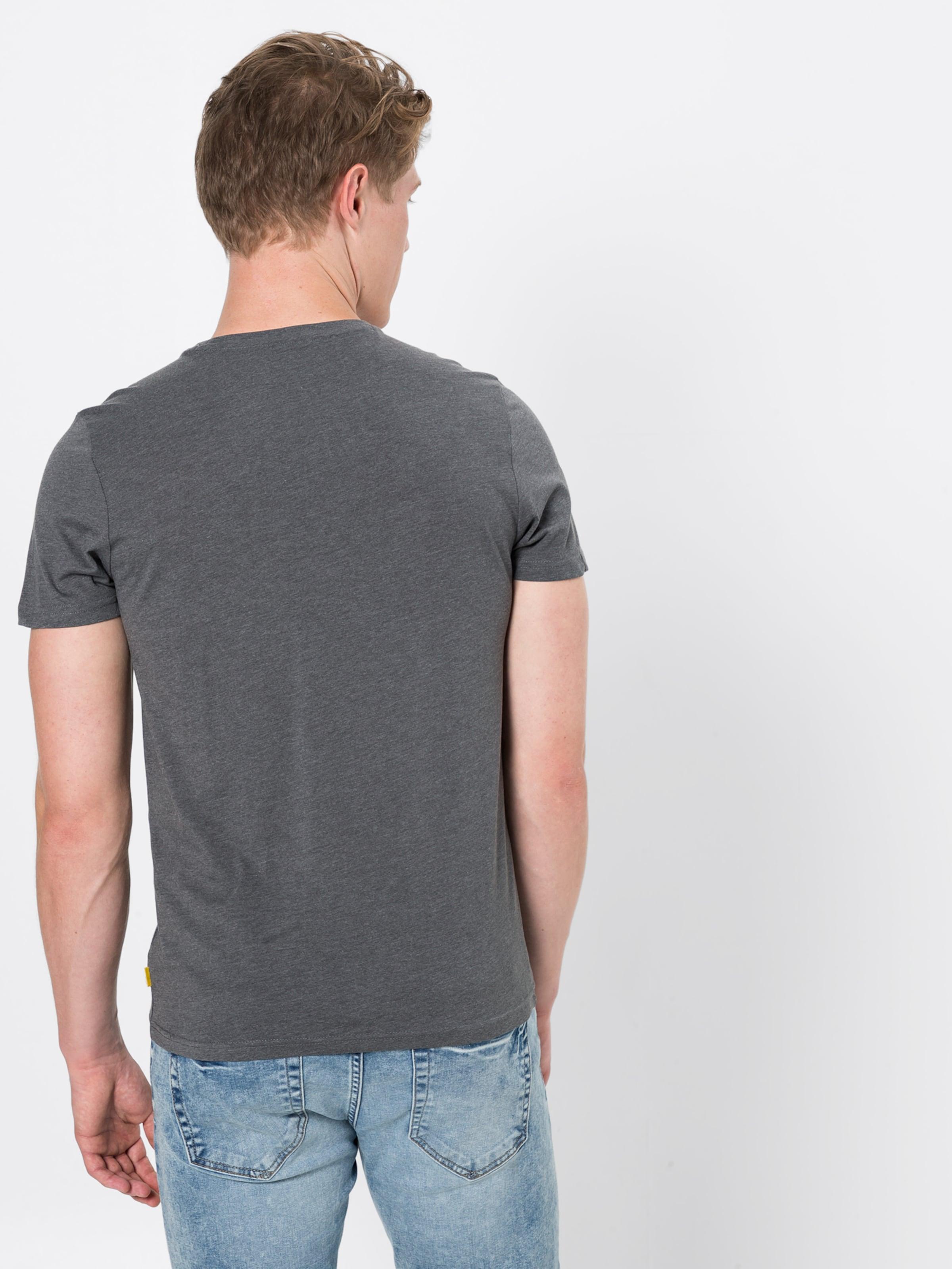 Tom shirt T Tailor Foncé En Gris thQrdCs