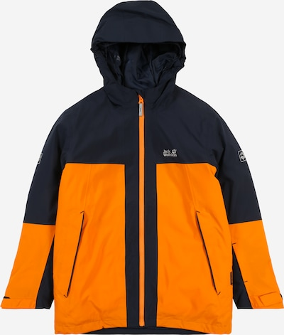 JACK WOLFSKIN Jacke  'POWDER MOUNTAIN' in nachtblau / orange, Produktansicht