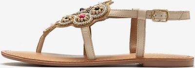 LASCANA Sandale in beige, Produktansicht