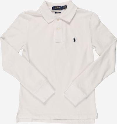 POLO RALPH LAUREN Langarmshirt mit Polokragen in weiß, Produktansicht