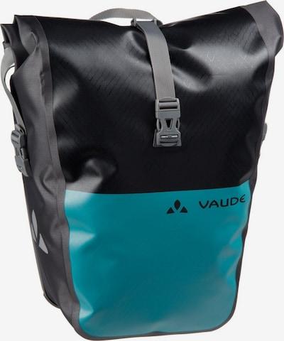 VAUDE Fahrradtasche ' Aqua Back Color ' in petrol / schwarz, Produktansicht