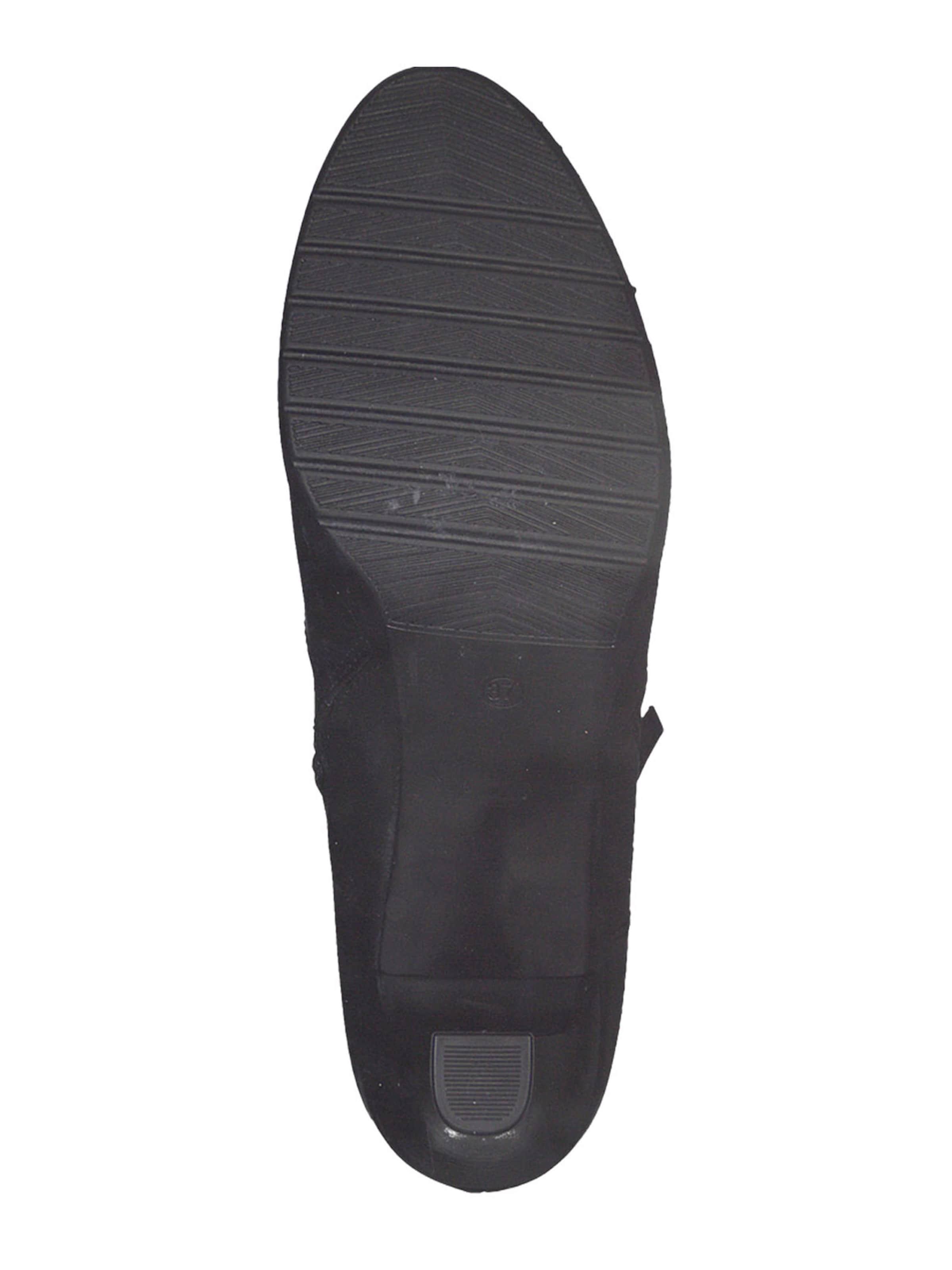 TAMARIS Rövid szárú csizmák fekete színben