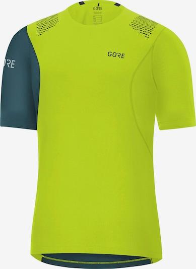 GORE WEAR Funktionsshirt 'R7' in tanne / neongrün, Produktansicht