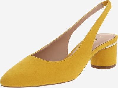 Dorothy Perkins Czółenka z wyciętą piętą 'DOLLAR COURT' w kolorze żółtym, Podgląd produktu
