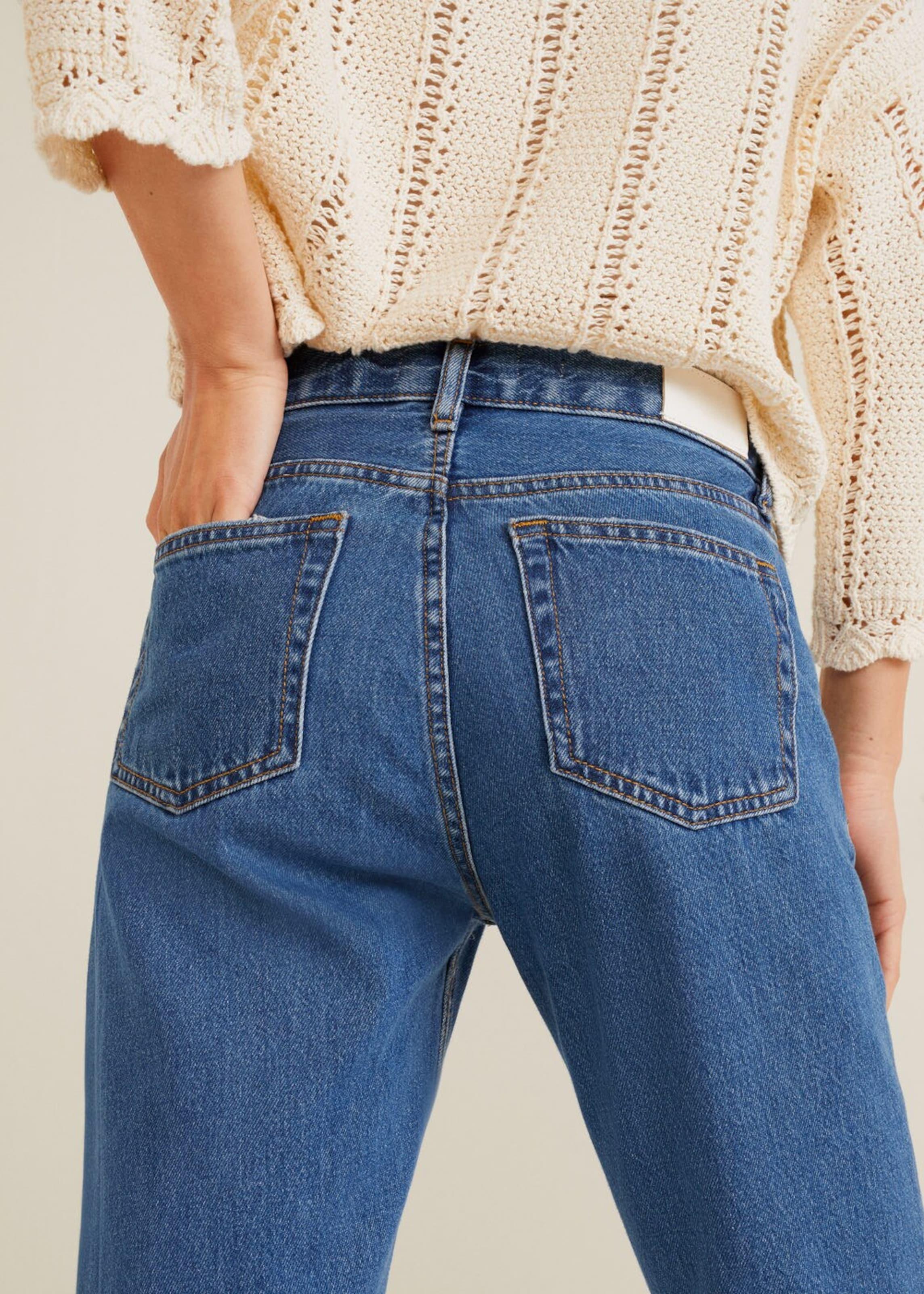 Mango Mango 'sayana' Jeans Jeans Dunkelblau In Jeans Mango 'sayana' In Dunkelblau 'sayana' In 80OPknwNX